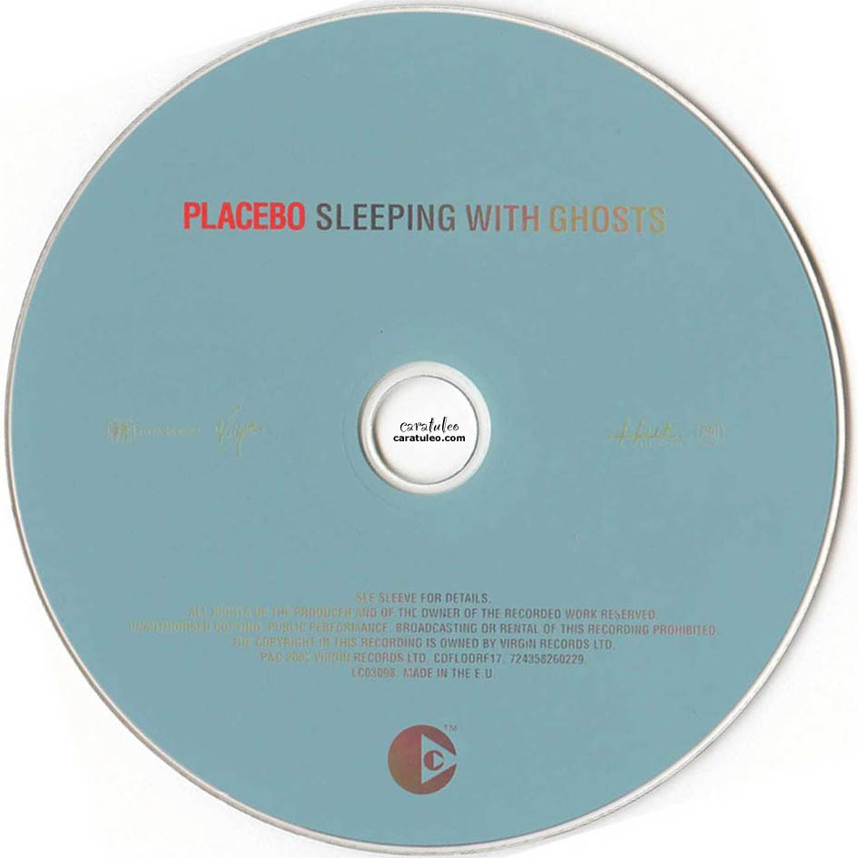 Placebo Sleeping With Ghosts Album Cover